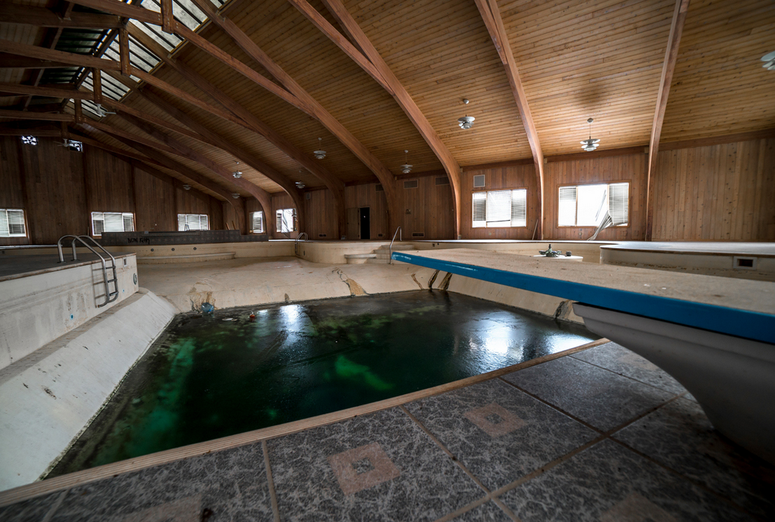 Take A Look Inside Mike Tyson S Abandoned Mansion Sports
