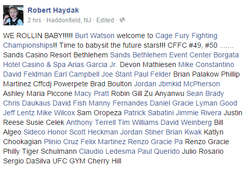 CFFC announcement