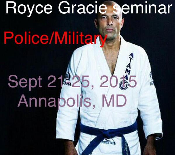 Royce Gracie 2015 Royce Gracie Defensive Tactics