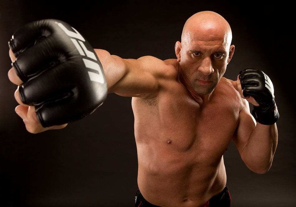 LAS VEGAS - NOVEMBER 01: Mark Coleman poses for a portrait on November 1, 2009 in Las Vegas, Nevada. (Photo by Jim Kemper/Zuffa LLC/Zuffa LLC via Getty Images)