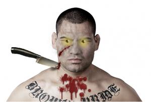 Cain Velasquez zombie