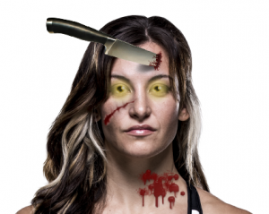 Miesha Tate zombie