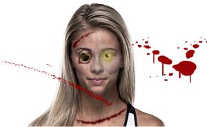 Paige VanZant zombie