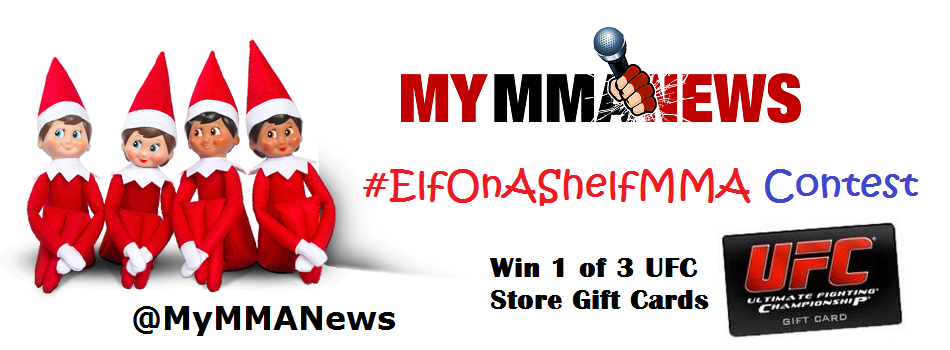 Elf On A Shelf MMA Contest