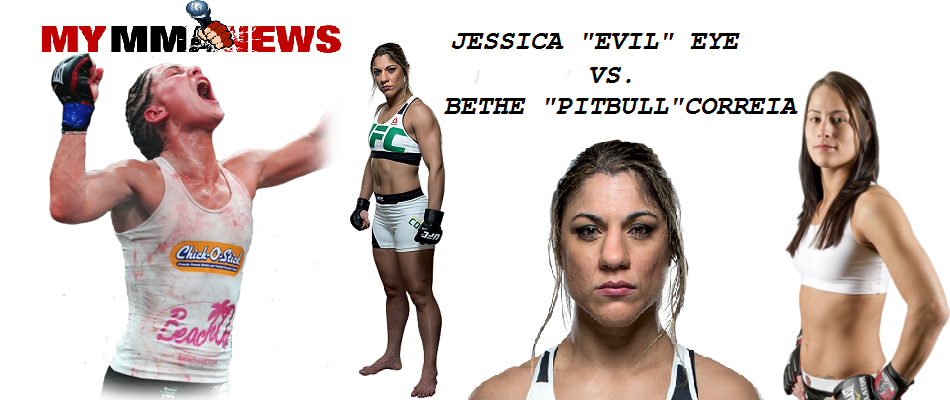 Jessica Eye vs Bethe Correia