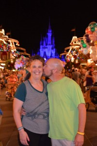 Marlene and Bob at Disney World