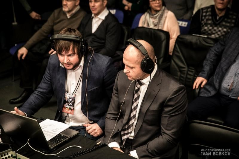 Living legend and WMMAA Honorary President Fedor Emelianenko served as color commentator for the broadcast of the recent 2015 Russian MMA Super Cup
