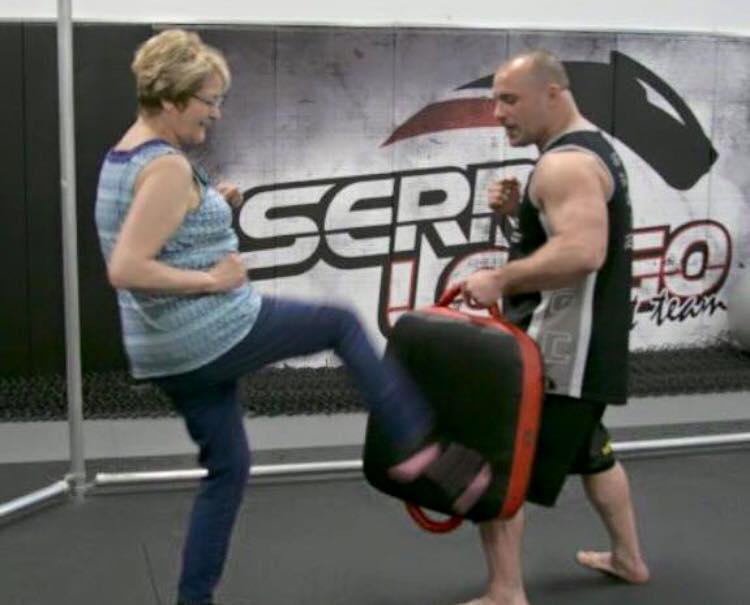 Matt Serra's mother