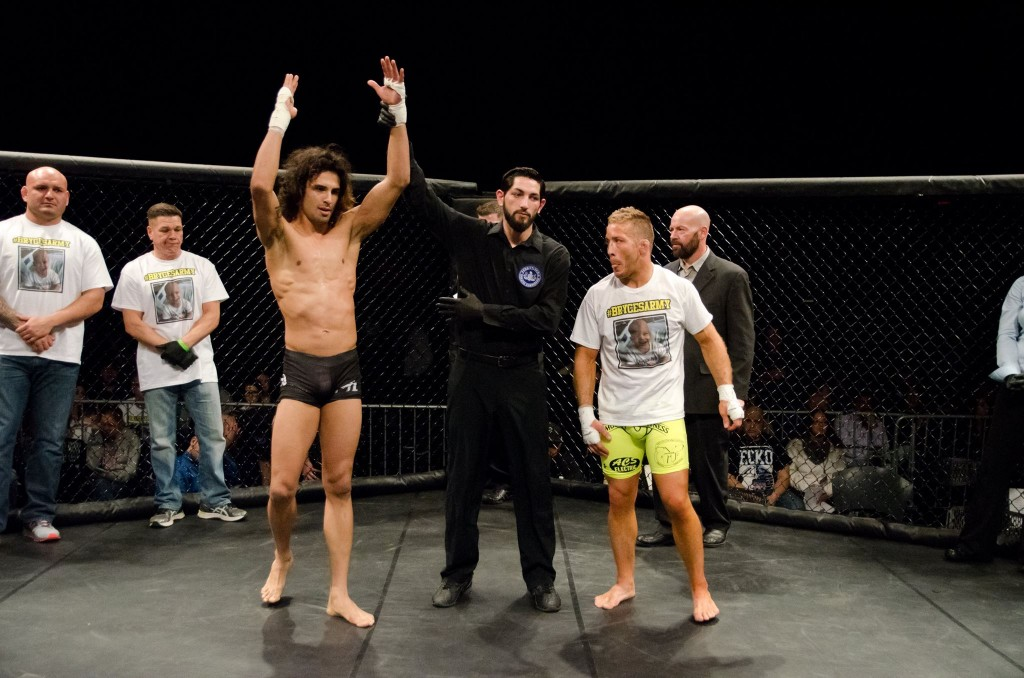 """The Crow"" defeated Scott ""The Animal"" Heckman at X Fights, January 30"