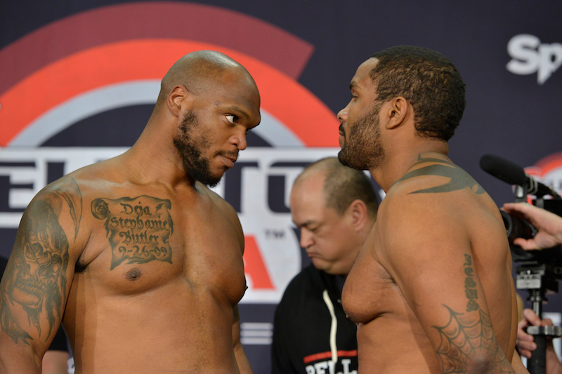 Bellator Heavyweight Feature Bout: Raphael Butler (263) vs. Tony Johnson (264.4)