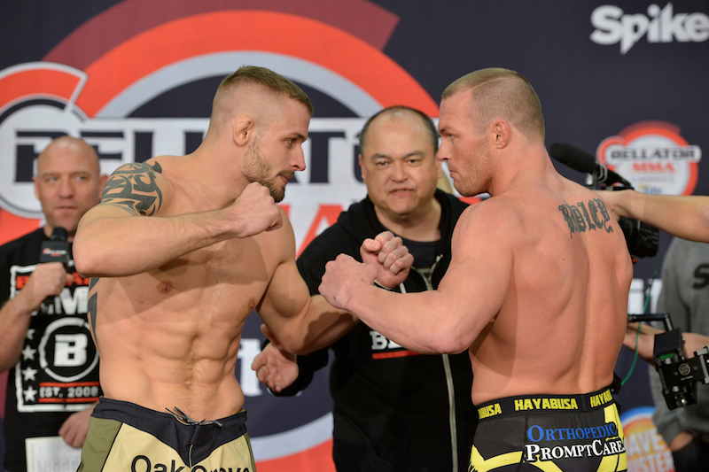 Bellator Welterweight Feature Bout: Chris Honeycutt (171) vs. Paul Bradley (171)