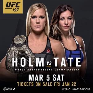 Holly Holm vs Miesha Tate