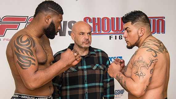 Heavyweight: Curtis Blaydes 4-0 (264.0) vs. Luis Cortez 3-2 (265.5)