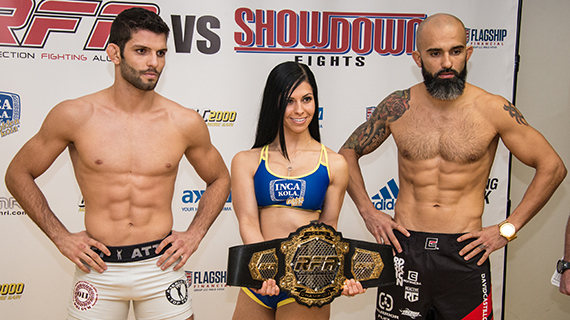 Lightweight Title: Thiago Moises 6-1 (154.0) vs. David Castillo 19-7 (155.0)