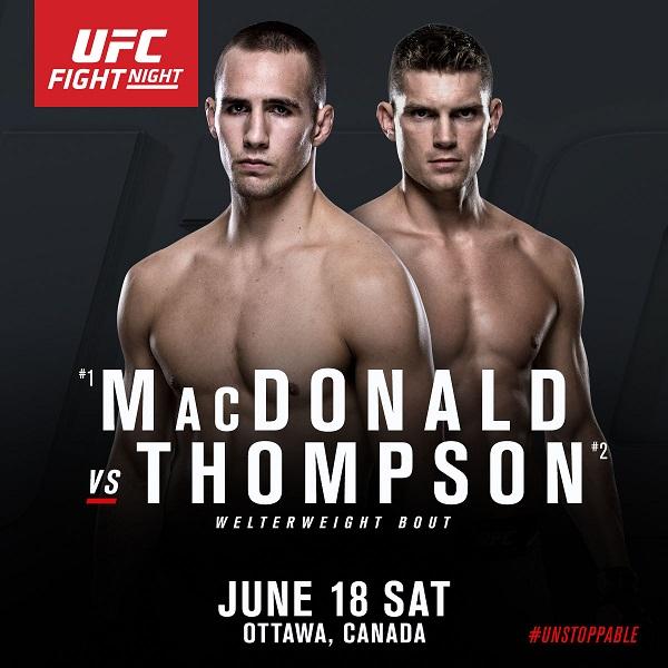 UFC Ottawa: MacDonald vs Thompson
