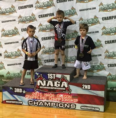 Tristin Hansen wins first place at NAGA