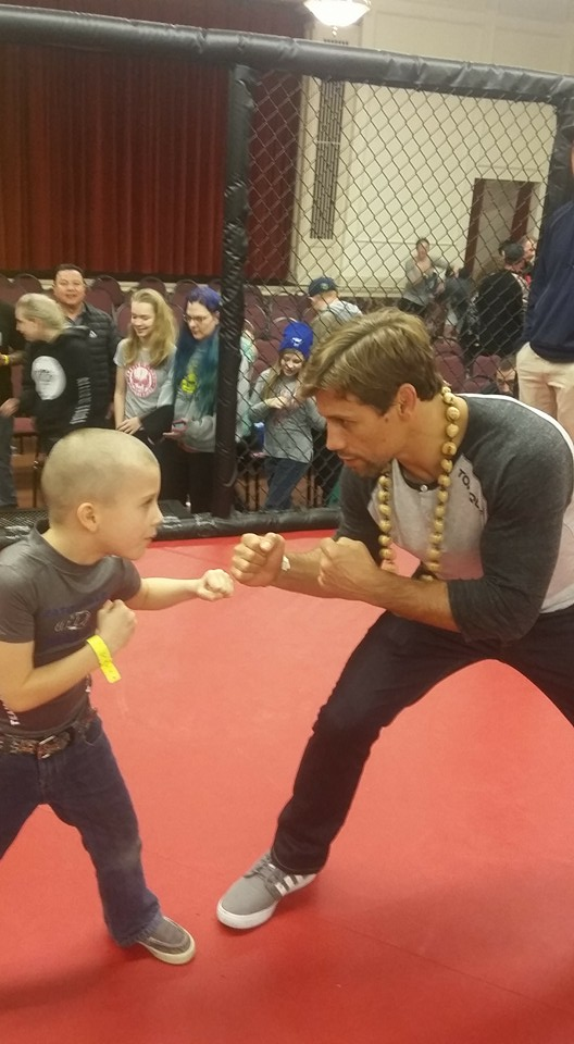 Tristin Hansen and UFC fighter Urijah Faber