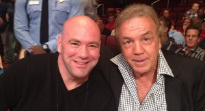 Dana White (left) and Lou Neglia (right)