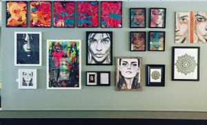 Local artists on display at Garlic Restaurant & Bar in Stroudsburg, Pa
