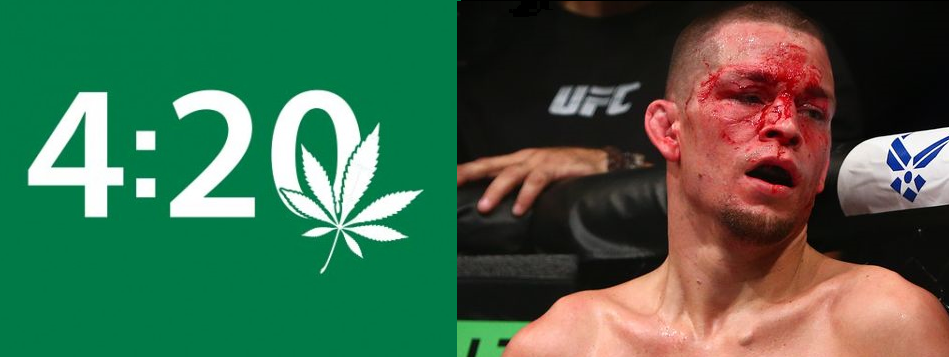 Nate Diaz medically suspended until 4/20.