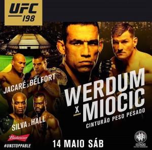 UFC 198 Fabricio Werdum vs Stipe Miocic
