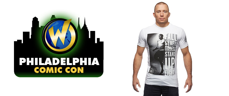 Georges St. Pierre at Wizard World