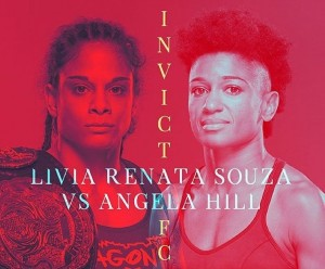 Livia Renta Souza vs Angela Hill