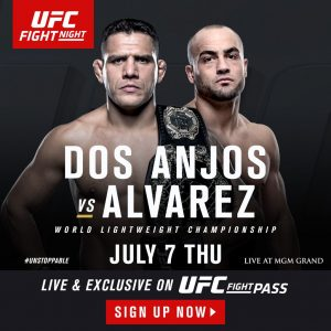 Eddie Alvarez gets UFC title shot