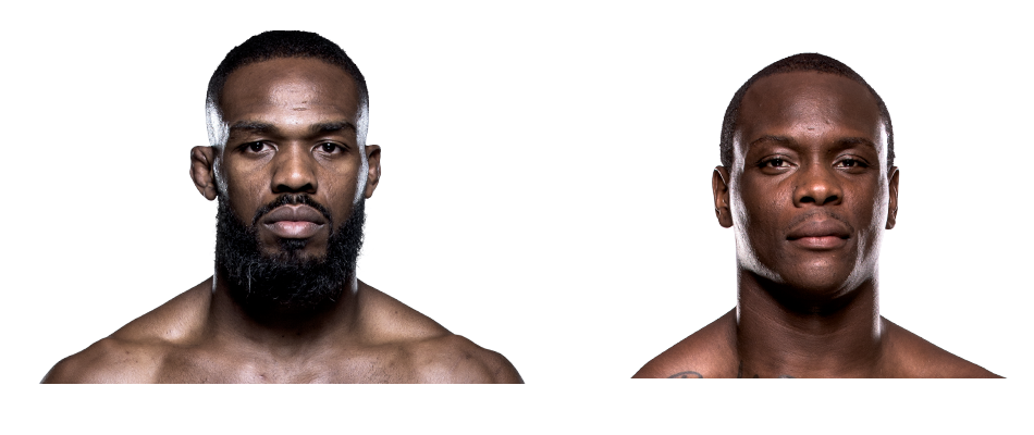 Ovince Saints Preux and Jon Jones