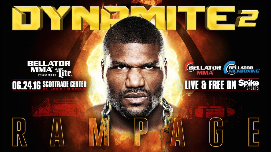 Rampage returns to Bellator