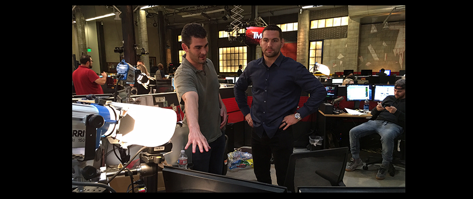 Chris Weidman hosts TMZ Sports