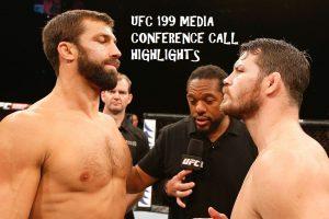 ufc 199 media call