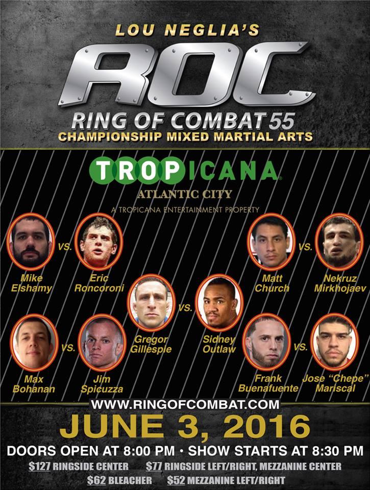 Ring of Combat 55
