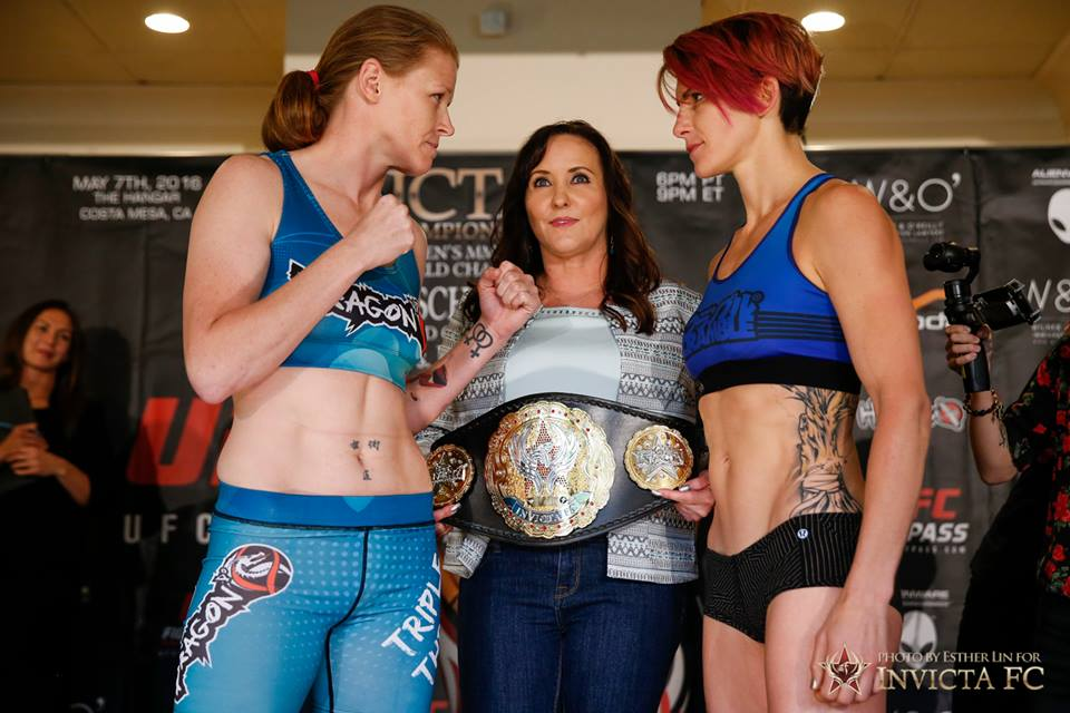 Invicta FC 17 weigh-in results