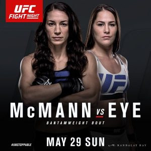 Sara McMann vs Jessica Eye