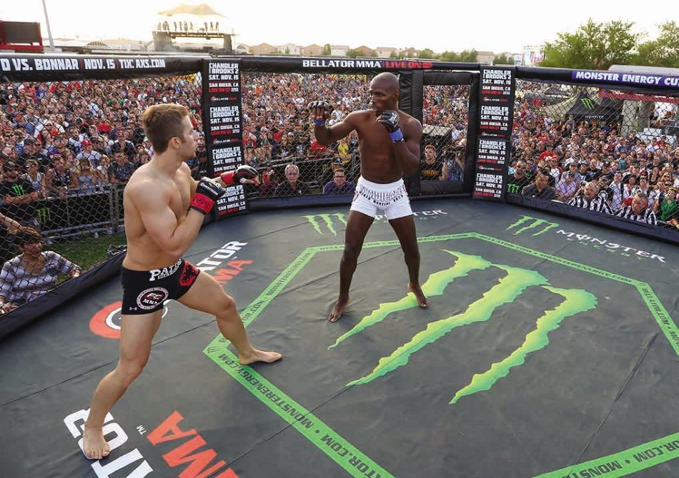 Bellator extends partnership with Monster Energy