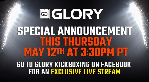 GLORY special announcement Facebook press conference