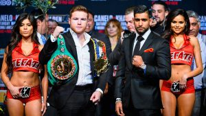 Canelo Alvarez vs Amir Khan results