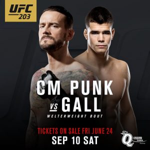 Mickey Gall vs CM Punk