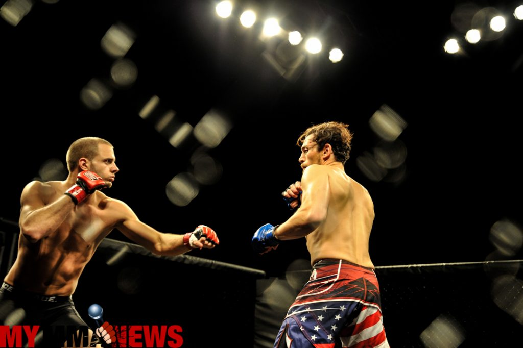 Greg Quarentello vs. Tim Kunkel - Photo by William McKee