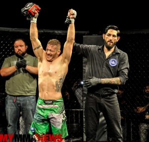 Scott Heckman wins at X Fights 2